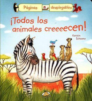 TODOS LOS ANIMALES CREEEECEN! (C/PAGINAS DESPLEGABLES)