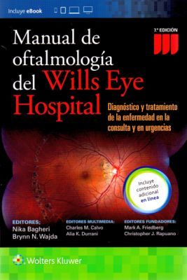 MANUAL DE OFTALMOLOGIA DEL WILLS EYE HOSPITAL 7ED.