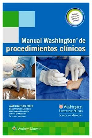 MANUAL WASHINGTON DE PROCEDIMIENTOS CLINICOS (C/CONT.ADIC.EN LINE