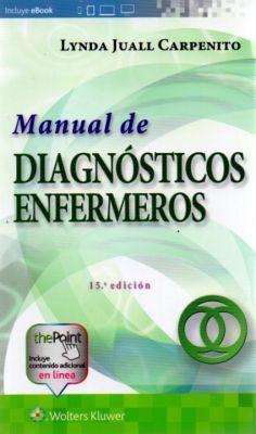 MANUAL DE DIAGNOSTICOS ENFERMEROS 15ED.