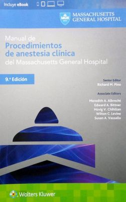 MANUAL DE PROCEDIMIENTOS DE ANESTESIAS CLINICA DEL MASSACHUSETTS