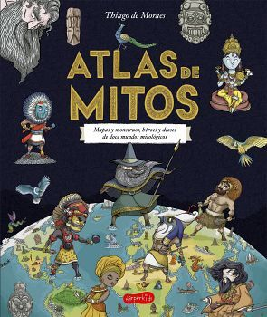ATLAS DE MITOS                            (HARPER KIDS/EMPASTADO)