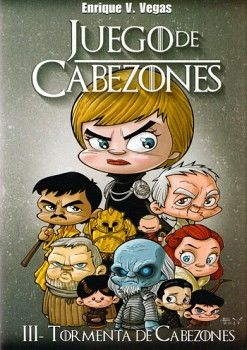 JUEGO DE CABEZONES (III) -TORMENTA DE CABEZONES- (EMPASTADO)