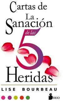 CARTAS DE LA SANACION DE LAS 5 HERIDAS (LIBRO + CARTAS)