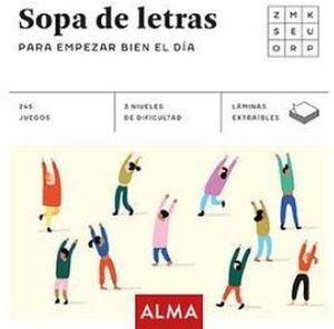 SOPA DE LETRAS -PARA EMPEZAR BIEN EL DIA-