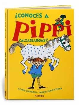 CONOCES A PIPPI CALZASLARGAS?       (CARTONE)