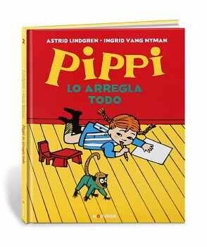 PIPPI LO ARREGLA TODO               (CARTONE)