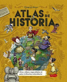 ATLAS DE HISTORIA                         (HARPER KIDS/EMPASTADO)