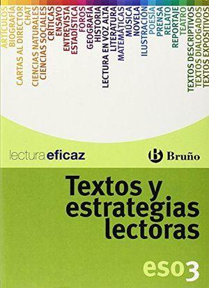 TEXTOS Y ESTRATEGIAS LECTORAS 3  -ESO-