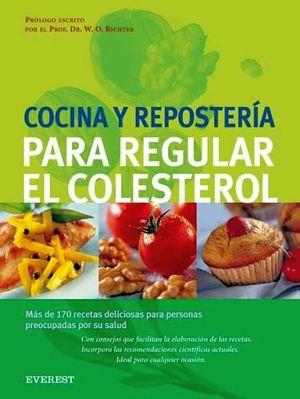 cocina y reposteria para regular el colesterol richter