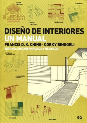 DISEÑO DE INTERIORES UN MANUAL 2ED.