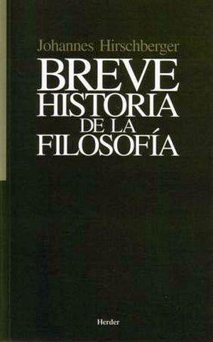 BREVE HISTORIA DE LA FILOSOFIA