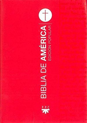 BIBLIA DE AMERICA (ED.POPULAR) -BOLSILLO/ROJA-