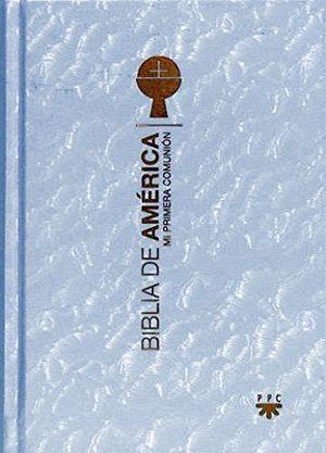 BIBLIA DE AMERICA (BOLSILLO)   -PRIMERA COMUNION/BLANCA-
