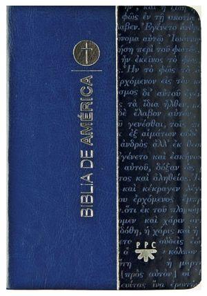 BIBLIA DE AMERICA (BOLSILLO)   -AZUL-