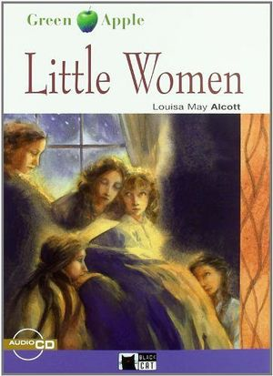 LITTLE WOMEN BOOK + CD   (BLACK CAT/GREEN APPLE)
