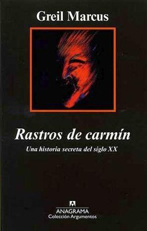 RASTROS DE CARMIN  (COL. ARGUMENTOS)