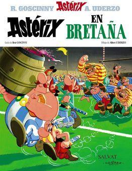 ASTERIX NO.  8 -ASTERIX EN BRETAÑA-