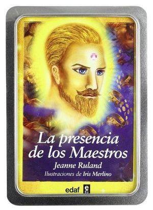 PRESENCIA DE LOS MAESTROS, LA  (ESTUCHE C/BARAJA) -CAJA METALICA-