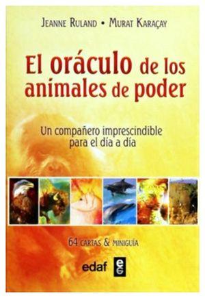ORACULO DE LOS ANIMALES DE PODER, EL     (C/64 CARTAS Y MINIGUIA)