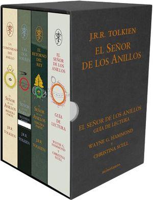 SEÑOR DE LOS ANILLOS, EL (GUIA DE LECTURA/ESTUCHE C/4 LIBROS)