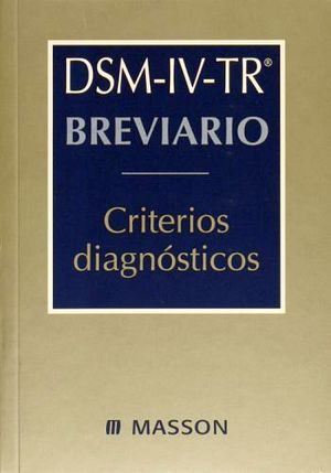 BREVIARIO CRITERIOS DIAGNOSTICOS