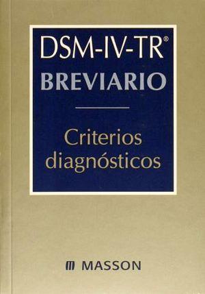 BREVIARIO CRITERIOS DIAGNOSTICOS