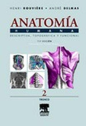 ANATOMIA HUMANA TOMO II  11ED. TRONCO