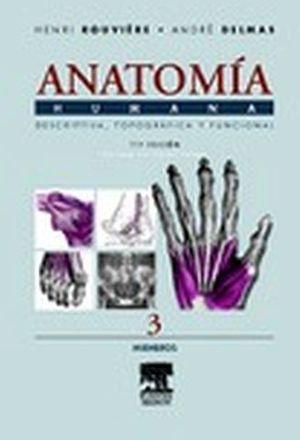 ANATOMIA HUMANA TOMO III 11ED. MIEMBROS