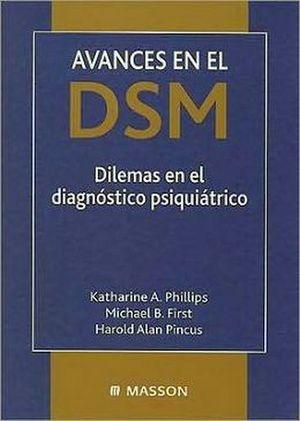 AVANCES DSM. DIL. DIAG. PSIQ.