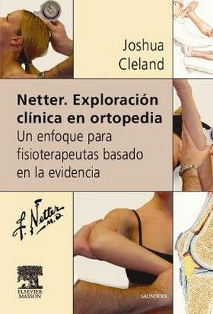 NETTER. EXPLORACION CLINICA EN ORTOPEDIA