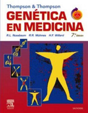 THOMPSON&THOMPSON GENETICA EN MEDICINA + STUDENT CONSULT 7ED.