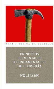 PRINCIPIOS ELEMENTALES Y FUNDAMENTALES DE FILOSOFIA        (101)