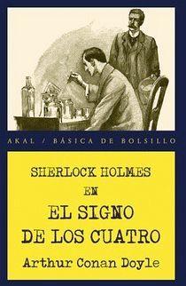 SHERLOCK HOLMES EN EL SIGNO DE LOS CUATRO (BASICA DE BOLSILLO)