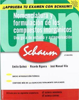 NOMENCLATURA Y FORMULACION DE LOS COMPUESTOS INORGANICOS 2E