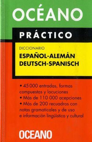 DICCIONARIO PRACTICO ESPAÑOL-ALEMAN Y V.V.