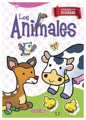APRENDO CON STICKERS -LOS ANIMALES-