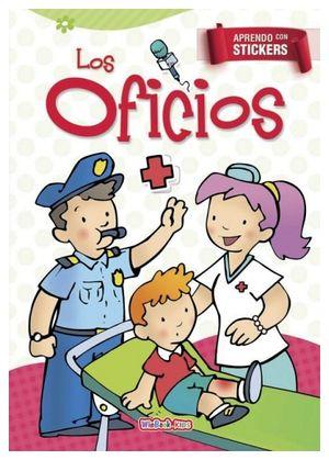 APRENDO CON STICKERS -LOS OFICIOS-