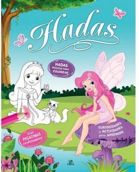 HADAS -HADAS MAGICAS PARA COLOREAR-          (C/PEGATINAS)