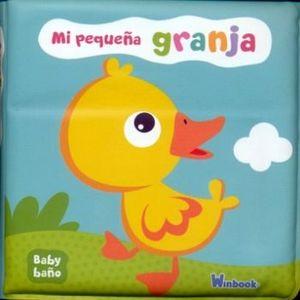 BABY BAÑO -MI PEQUEÑA GRANJA-             (LIBRO DE BAÑO)