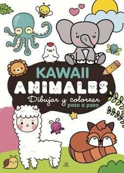 KAWAII ANIMALES -DIBUJAR Y COLOREAR PASO A PASO-