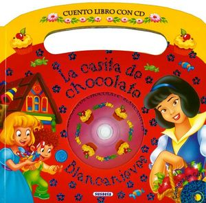 CASITA DE CHOCOLATE -BLANCANIEVES- (ROJO) (C/CD)