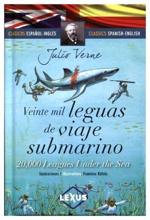 VEINTE MIL LEGUAS DE VIAJE SUBMARINO (CLASICOS ESPAÑOL-INGLES/EMP