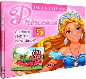 PLANTILLAS PRINCESAS