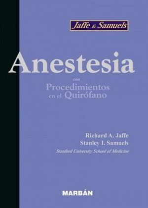 ANESTESIA (BOLSILLO 13)
