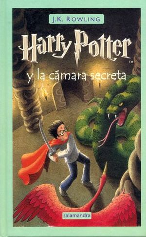 HARRY POTTER Y LA CAMARA SECRETA          (EMPASTADO)