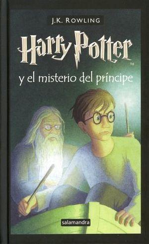 HARRY POTTER Y EL MISTERIO DEL PRINCIPE   (EMPASTADO)