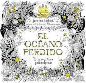 OCEANO PERDIDO, EL -UNA AVENTURA PARA COLOREAR-