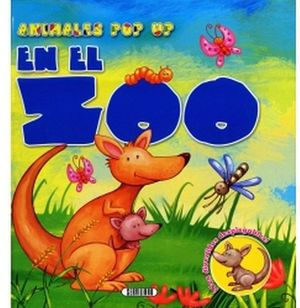 EN EL ZOO      -ANIMALES POP UP-