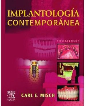 IMPLANTOLOGIA CONTEMPORANEA 3ED.